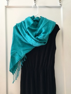 Dress and scarf